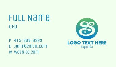 Environmental Letter S Business Card