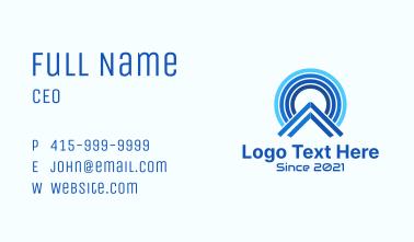 Blue Signal House  Business Card