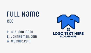 Tshirt Laundry House Business Card