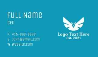 Owl Bird Aviary  Business Card