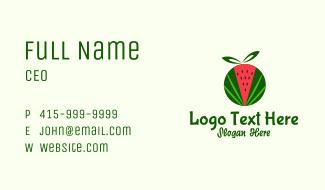 Watermelon Fruit Gift Business Card