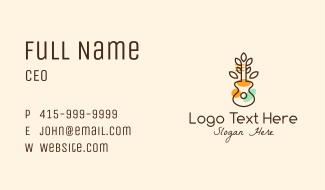 Ukulele Plant Business Card