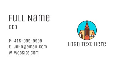 Polygon Cathedral Business Card
