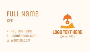Orange Eye Bell Business Card