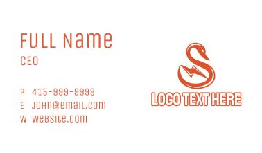 Bolt Swan Business Card