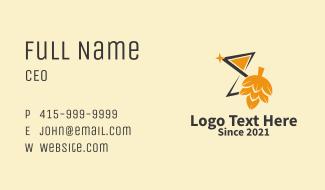 Malt Beer Star  Business Card