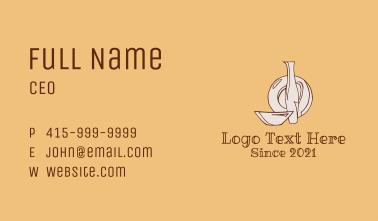 Ceramic Shop Kitchenware Business Card