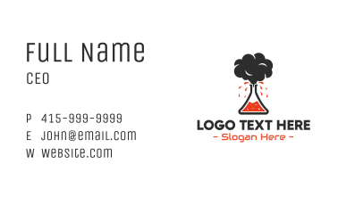 Volcano Lab Business Card