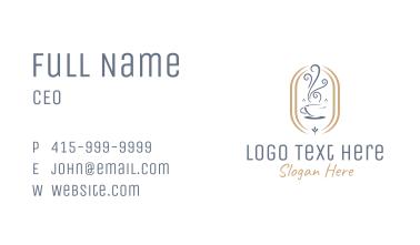 Aroma Cafe Business Card