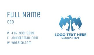 Digital Blue Eagle Business Card