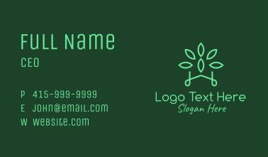 Gardening Green Plant Business Card