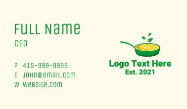 Lemon Lime Pan Business Card