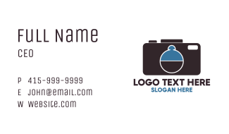 Camera Tray Business Card