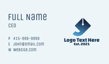 Pen Publishing Company  Business Card