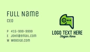 Green Gecko Messaging Business Card
