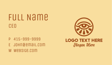 Eye Beauty Cosmetics  Business Card