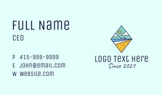 Diamond Beach Resort Business Card