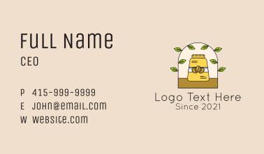 Organic Coffee Beans  Business Card