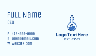 Digital Pixel Laboratory  Business Card