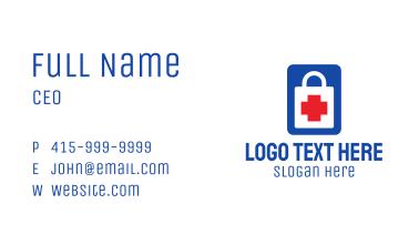 Medical Shopping Bag Business Card