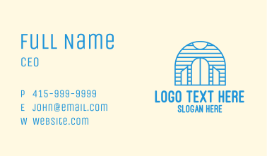 Blue Palace Gate Business Card