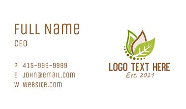 Leafy Vegan Diet  Business Card
