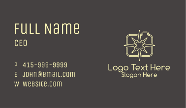 Star Photography  Business Card