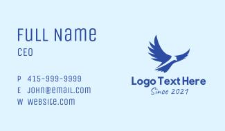 Blue Wild Eagle Business Card