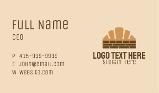 Croissant Wall Business Card