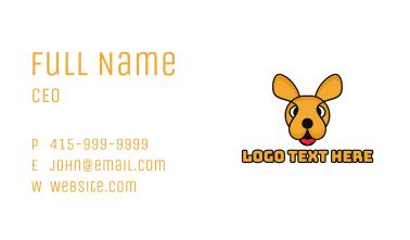 Colorful Kangaroo Business Card
