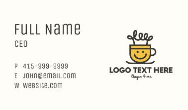Light Bulb Cup Business Card