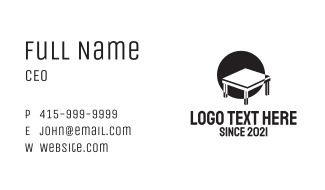 Minimalist Table  Business Card