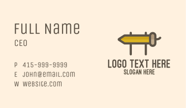 Acorn Board Business Card