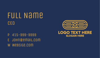 Abstract Tribal Pattern Business Card