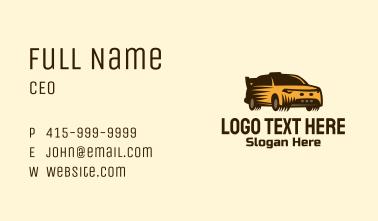 Sports Racing Car Business Card