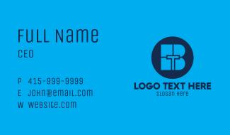 Blue Tech BT Business Card