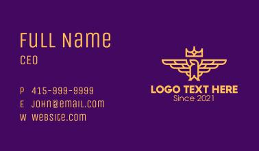Royal Crown Eagle Business Card