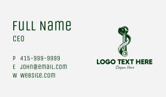 Snake Engine Rod  Business Card