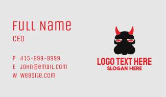 Evil Dog Business Card