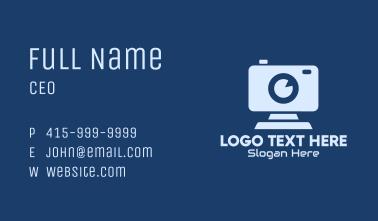 Professional Surveillance Camera Business Card