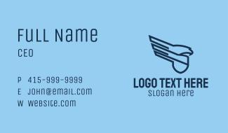 Eagle Shield Company Business Card
