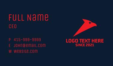 Star Eagle Aviation  Business Card