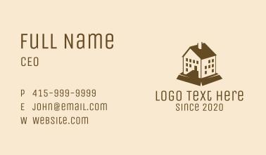 Brown Mansion Condominium Business Card