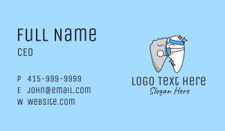 Teeth Dental Clinic Business Card