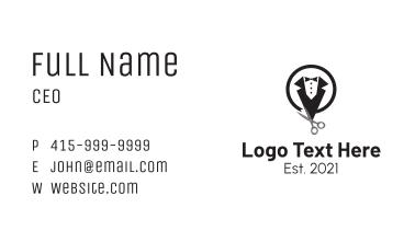 Formal Suit Tailor  Business Card