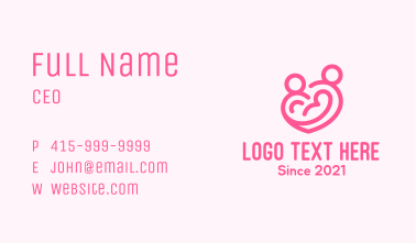 Family Heart Care Business Card