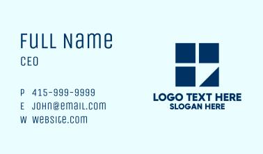 Modern Learning Center Business Card